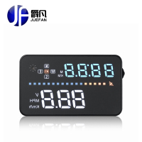 JUEFAN A3 GPS hud display auto Universal HUD Speedometer Head UP display Windschutzscheibe Digital auto geschwindigkeit projektor hud projector