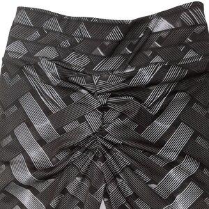 Image 5 - Leggings de Fitness Sexy taille haute, en fer, tissage avec cravate imprimée pour femmes