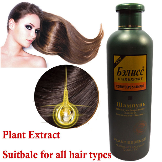Hair Shampoo Hair Growth Nourishing Damaged Repair Cordyceps Shampoo Professional Care 500ml