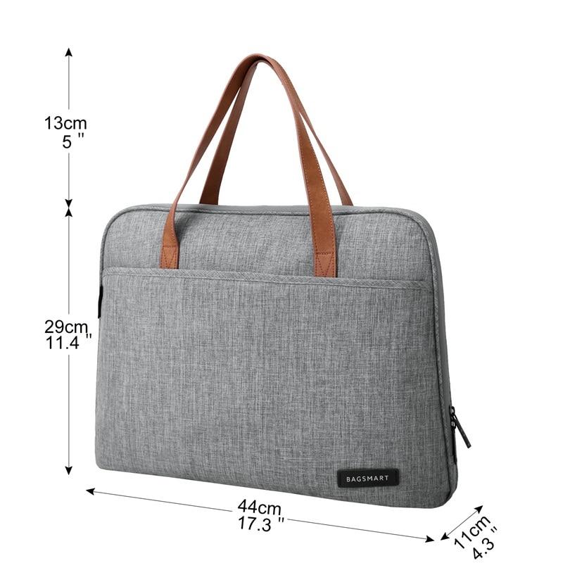 BAGSMART New Fashion Nylon Men 14 tommers laptopbag Berømt merke - Stresskofferter - Bilde 3