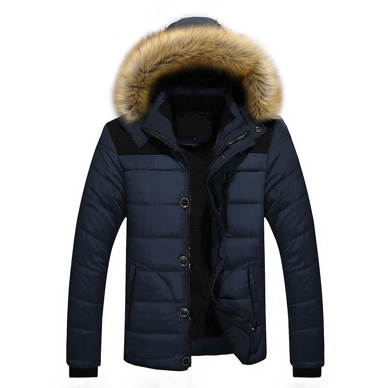 Men Winter Jacket 6XL Plus Size 2017 New Winter Fleece Thick Warm Faux Fur Hooded Jacket Parka Men Quilted Jacket High Qulity spring design popular men s hooded fleece black yellow size xl