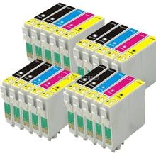 4 FULL SET + 4BK 20 XL INK CARTRIDGES FOR STYLUS SX125 SX130 SX230 SX425W SX235W SX435W SX420W COLOUR INKJET PRINTER T1285XL