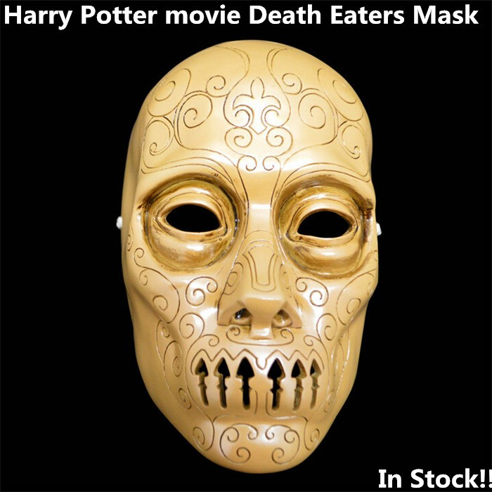 Harry Potter DEATH EATERS CS Mask Outdoor Halloween Protection Collection Prop