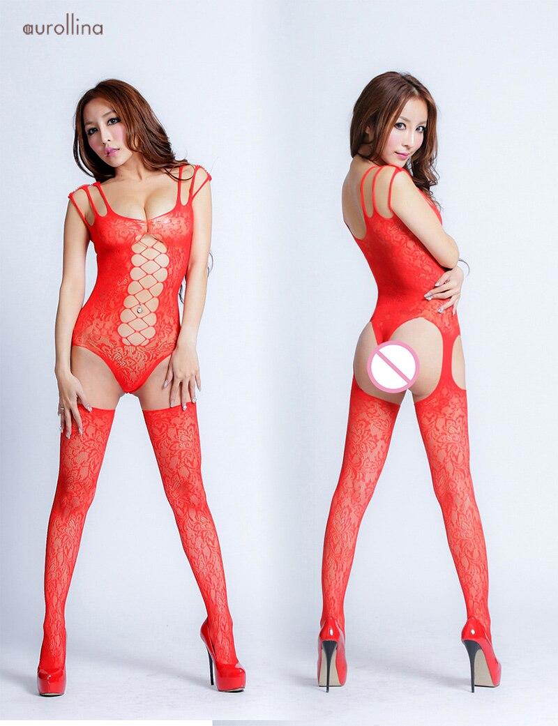 Sexy-Garter-Belt-BodySuit-Bodyhose-7022-(1)1