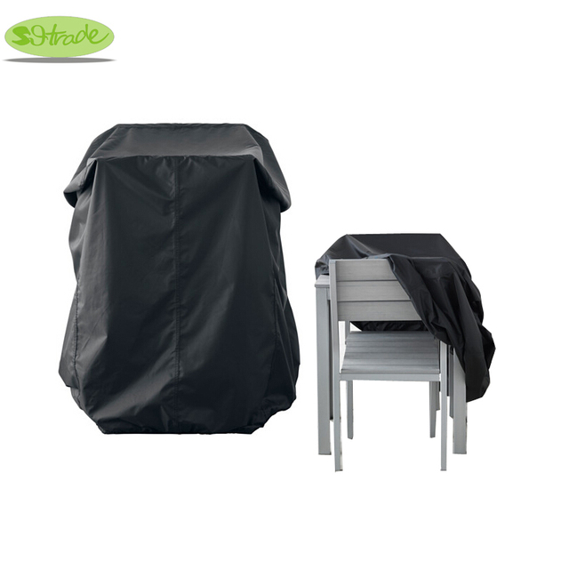 Wooden chair and table cover,Black color 100x90x90cm,Garden furniture cover,waterproof Cover for Outdoor furnitures