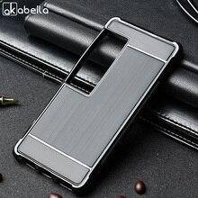 Akabeila телефон чехлы для Meizu Pro 7 5.2 дюймов матовый волочильные силиконовый чехол корпуса Корпус защитный