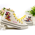 Mickey mouse children shoes female casual sneakers boys girls boots kids shoes parent-child shoes