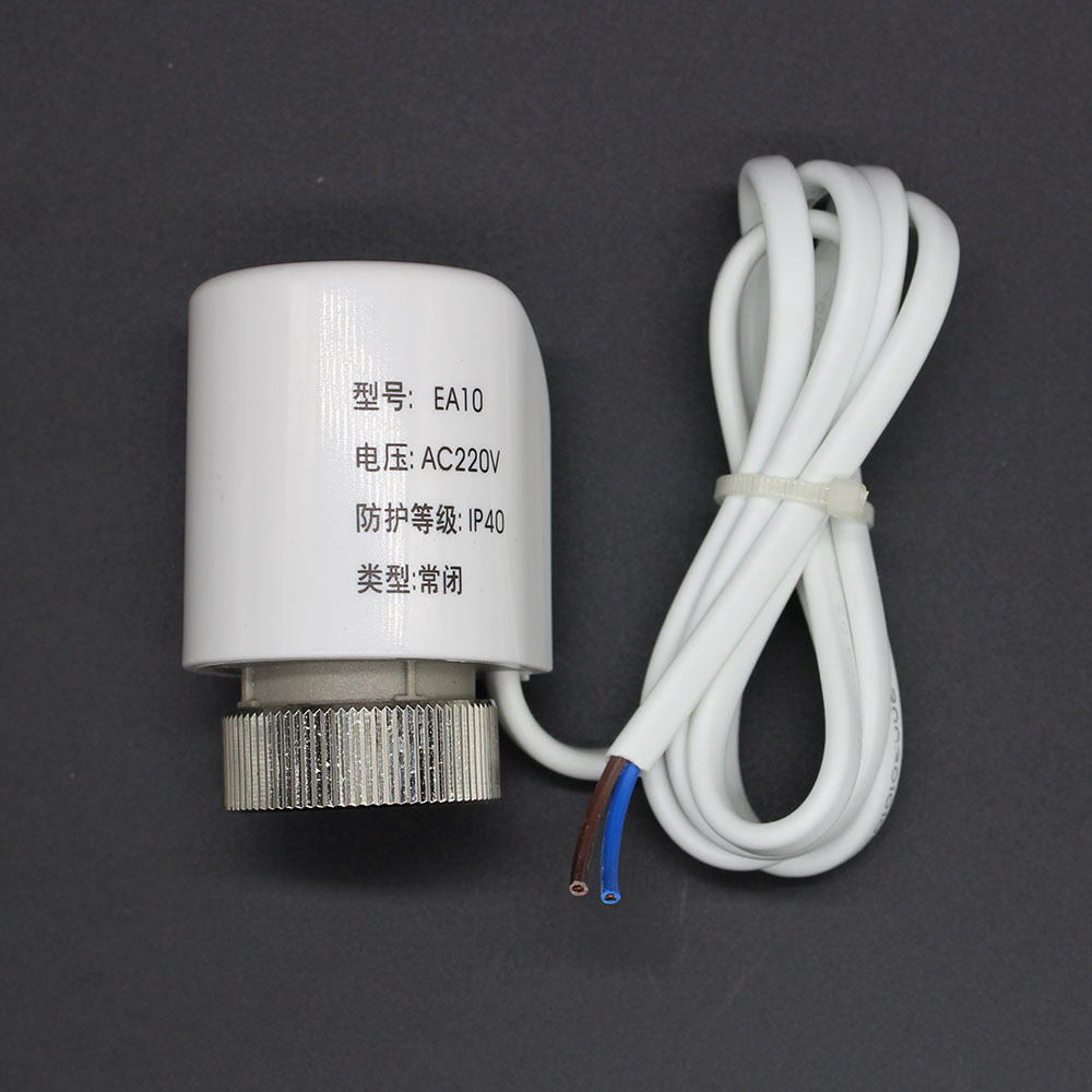 Thermal Electric Actuator for Manifold in Under flooring Heating System 230V for control radiator NC