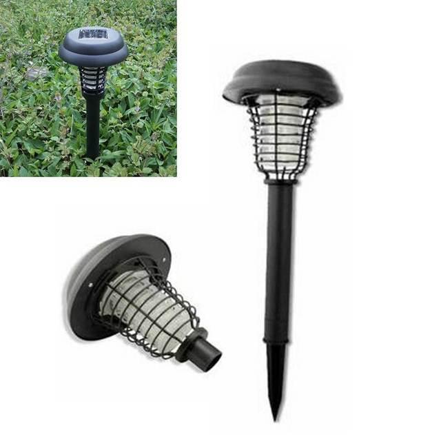 zonne energie led solar light outdoor verlichting tuin anti muggen lamp yard plastic waterdichte