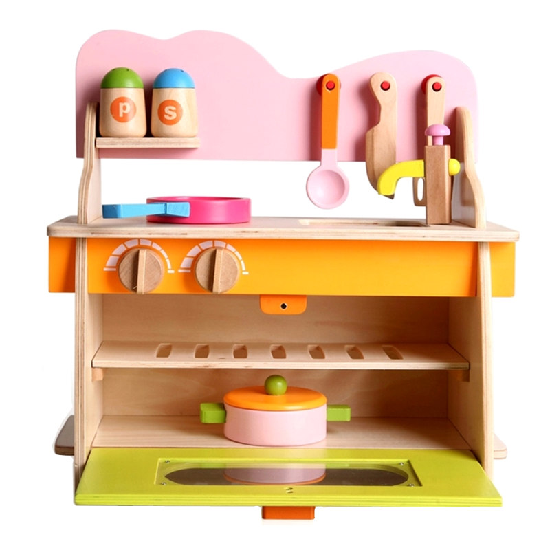 Candywood Mother Garden Baby kids wood kitchen cooking toys ...