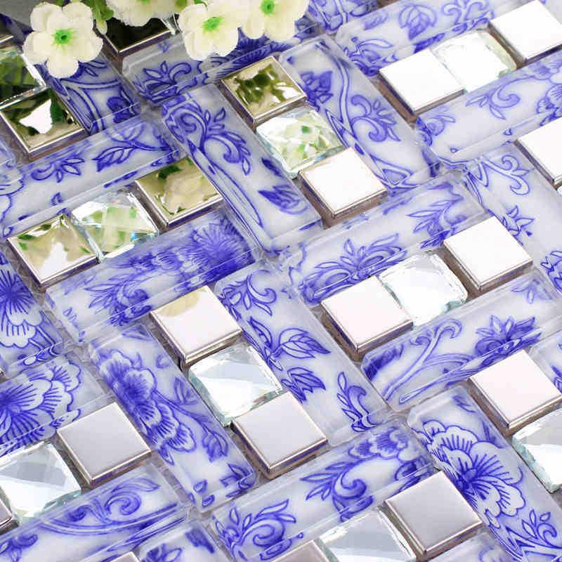 Blauwe tegels voor keuken koop goedkope blauwe tegels voor keuken ...