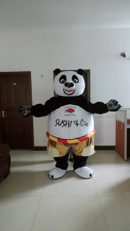 2015 hot sale kung fu panda mascot costume for adult fancy dress cartoon character halloween party - Kung Fu Panda Halloween