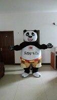 2015 venta caliente kung fu panda traje de la mascota de adultos fancy dress personaje de dibujos animados traje de fiesta de halloween