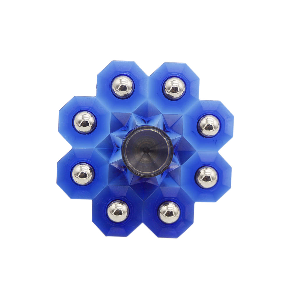 Fidget Hand Toy Anti-Anxiety Spins Ultra Fast Durable Portable Spinner for Fidgeters Anx ...