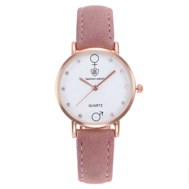 8f6d186605f Luxury Brand Fashion Ladies Watches Leather Women Watches Elegant  Minimalism Rhinestone Casual Black Female Waterproof Clock