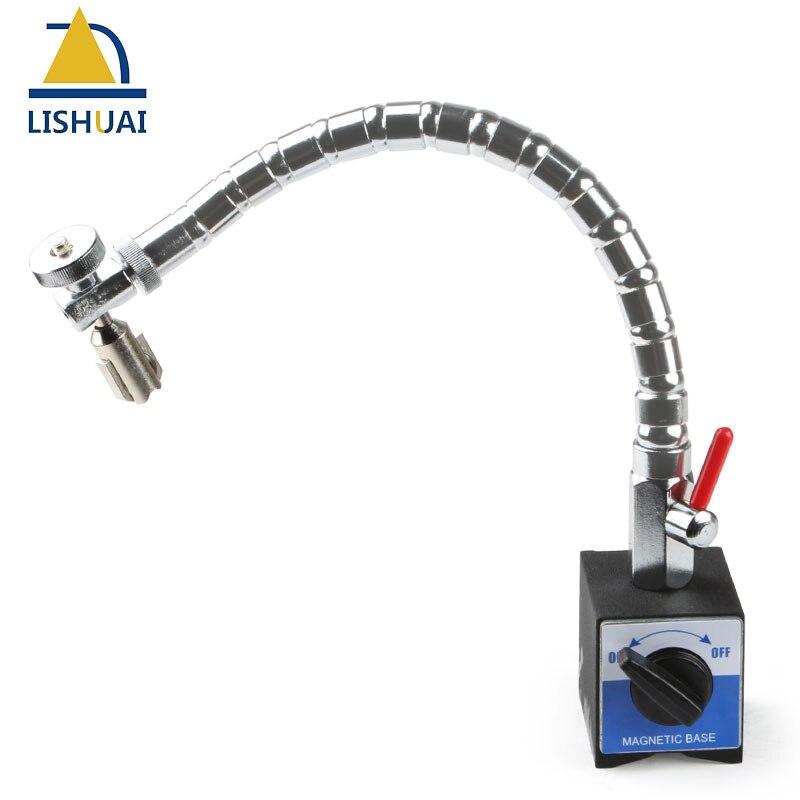 Bras Flexible support de Base Magnétique Support pour Cadran Outil de Test Indicateur Magnétique Force 80Kg