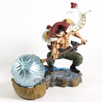 One Piece Whitebeard Edward Newgate Naginata Rasetsu Ver. PVC Figure Statue Collectible Model Toy