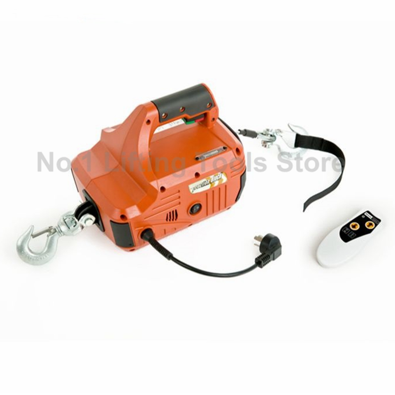 Material Lifting and Pulling Portable Winch 450 kg 230V