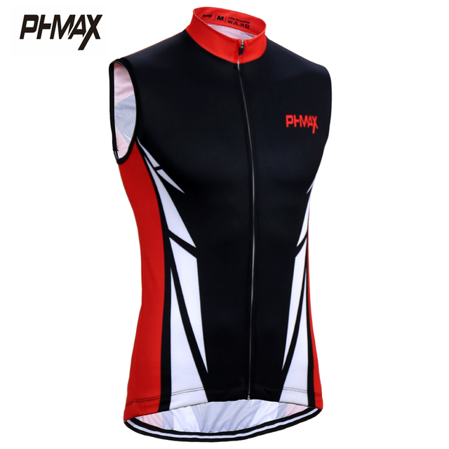 PHMAX 2017 Summer Sleeveless Cycling Vests Breathable MTB Bicycle Clothing Bike Jerseys Maillot Ropa Ciclismo