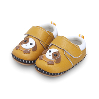 Lovely Doggie Baby Shoes Soft Sole Boy And Girl Shoes Wiht Real Leather Shoes Infant Toddler