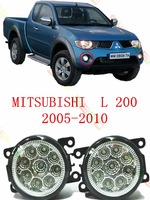 For Mitsubishi L200 2005 06 07 08 09 10 Car Styling Led Lamps Refit Modified 12V