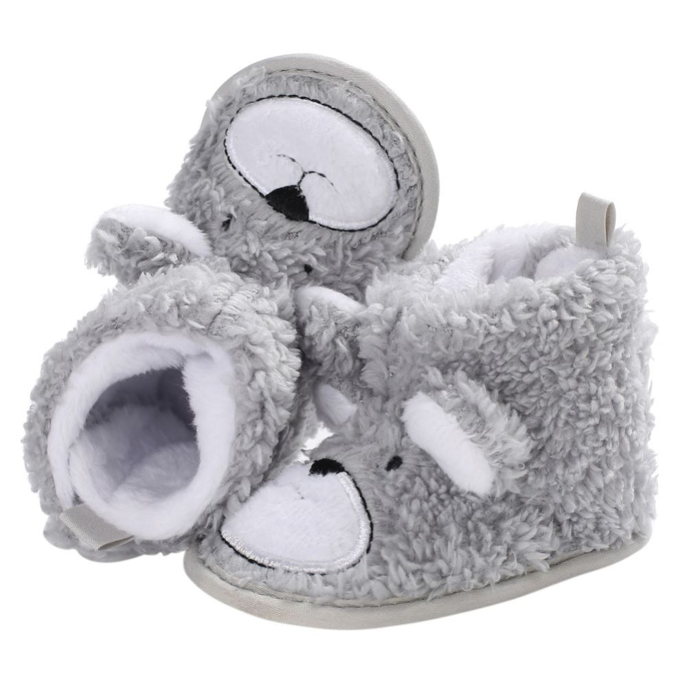 2018 Winter Warm Baby Boots Shoes Knitted Sweaters Boots Booty Crib Babe Girls Toddler Boy Shoe For 0-1 Year