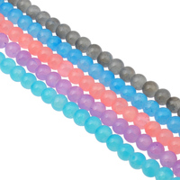 Pink Purple New Fashion Glass Beads Beads For Making Jewelry Free Shipping Wholesale 8 10MM