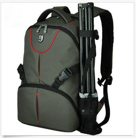 Backpack Waterproof Camera Bag Camera Case For Nikon Canon Sony Samsung Pentax Laptop bag SY04