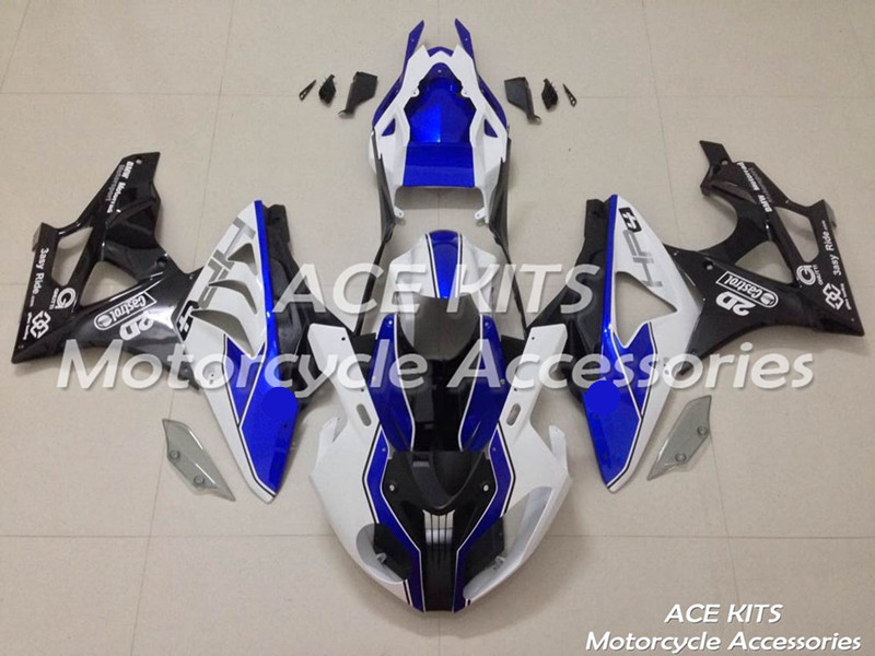 New ABS motorcycle Fairing For BMW S1000RR 2009 2010 2011 2012 2013 2014 Injection Bodywor All sorts of color No.374
