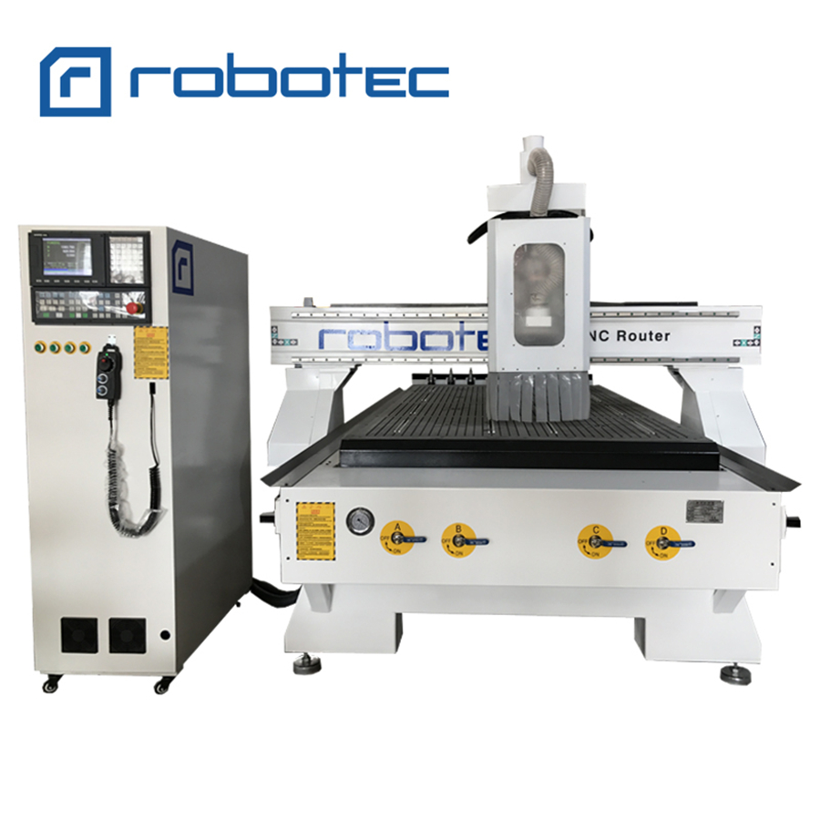 1300*2500mm Wood Furniture Making Linear Atc Woodworking Machine 1325 Cnc Router