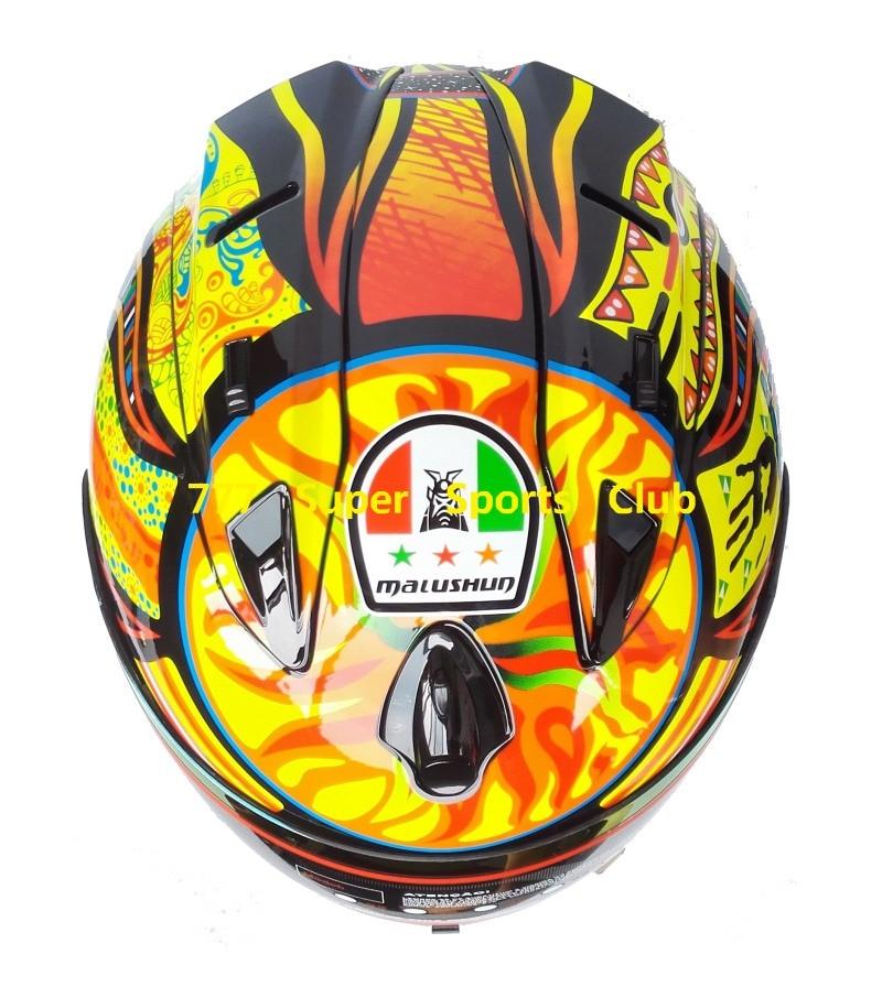 New Arrival Brand Mrc Valentino Rossi Motorcycle Helmet Moto Full