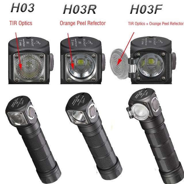 New Skilhunt H03 H03R H03F Lampe Frontale 1200 Lumens Led Headlight Outdoor 18650 Head Lamp Camping Hoofdlamp Linterna+ Headband