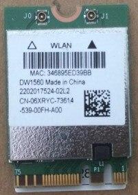 BCM94352Z BCM94352 DW1560 NGFF 867 Mbps 802.11ac Bluetooth 4.0 Carte Wlan