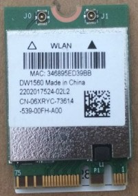 BCM94352Z BCM94352 DW1560  NGFF 867Mbps Bluetooth 4.0 Wlan Card