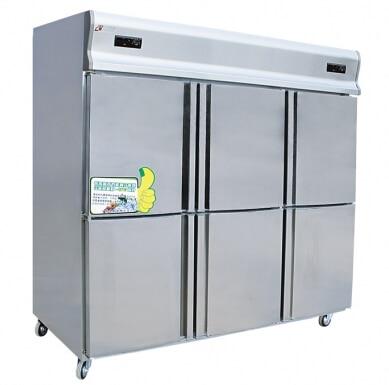 GD1.6L6T Models Kitchen Refrigerator,Six Single-temperature Refrigeration Copper Tube Refrigerator