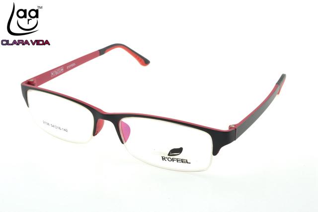 SÓLO 7G Memoria TR Ultra Ligero Gafas Nerd Marco Mitad-borde Por Encargo de la Prescripción Óptica Gafas de LECTURA Fotosensibles + 1 A + 6