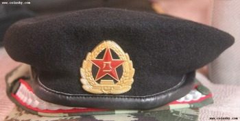 China PLA  Marine  FORCE 07 Beret Cap  ussr soviet navy US USA ww2 medal order coin muñeco buffon