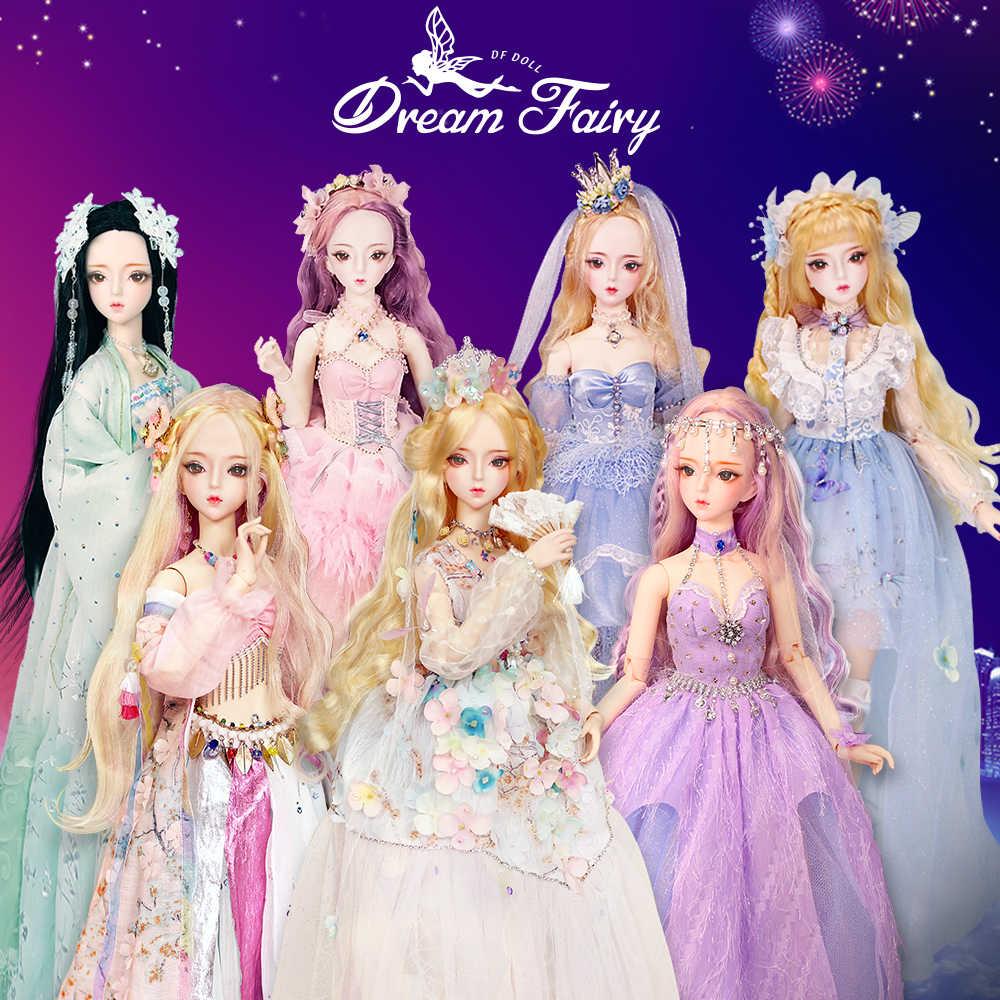 1/3 BJD Blyth кукла для механических соединений тела с макияж, включая волосы, глаза, одежда 62 см Высота девушки ледяной