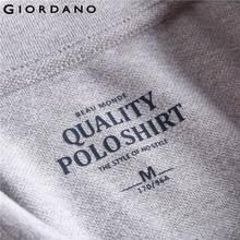 Giordano Polo Shirt Men Napoleon Embroider
