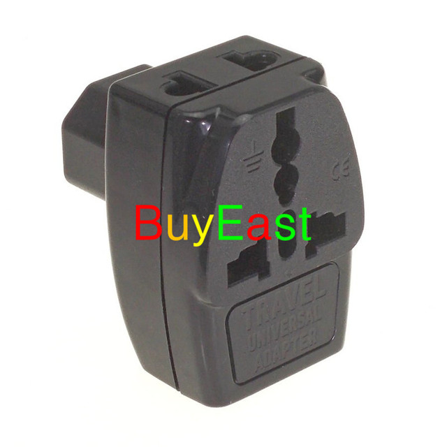 3 way outlet 2010 kawasaki brute force 750 wiring diagram free shipping universal to iec320 c14 electrical plug adapter multi receptacle pdu c13
