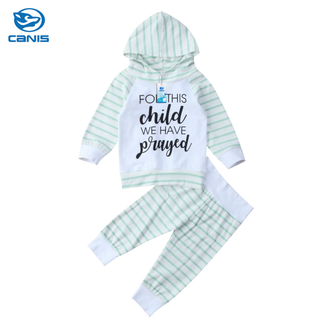 8c8a414cb573 Cotton Cute Baby Boys Girls Outfits Clothes Toddler Kids Hoodies ...