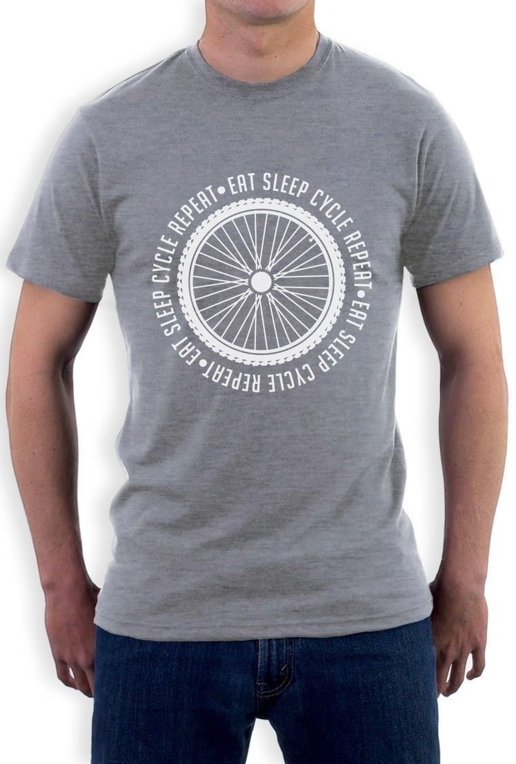 Eat Sleep Cycle Repeat -Cyclingr Cool T-Shirt Gift Idea