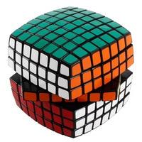 7x7x7 Magic Cube Carbon Sticker Speed 85mm Rubiks Blokjes Puzzel Speelgoed Kinderen Kids Gift speelgoed Jeugd Volwassen Instructie MF701X