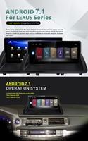 Quad core Android 7,1 автомобилей мультимедиа 10,25 для Lexus CT 200 h CT200h 2013 ~ 2018 Carplay gps navi плеер радио авто стерео устройства