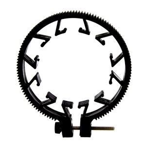 Image 3 - Ootdty abs plástico ajustável anel de engrenagem para follow focus belt 65 75 75mm para lente dslr mod 0.8