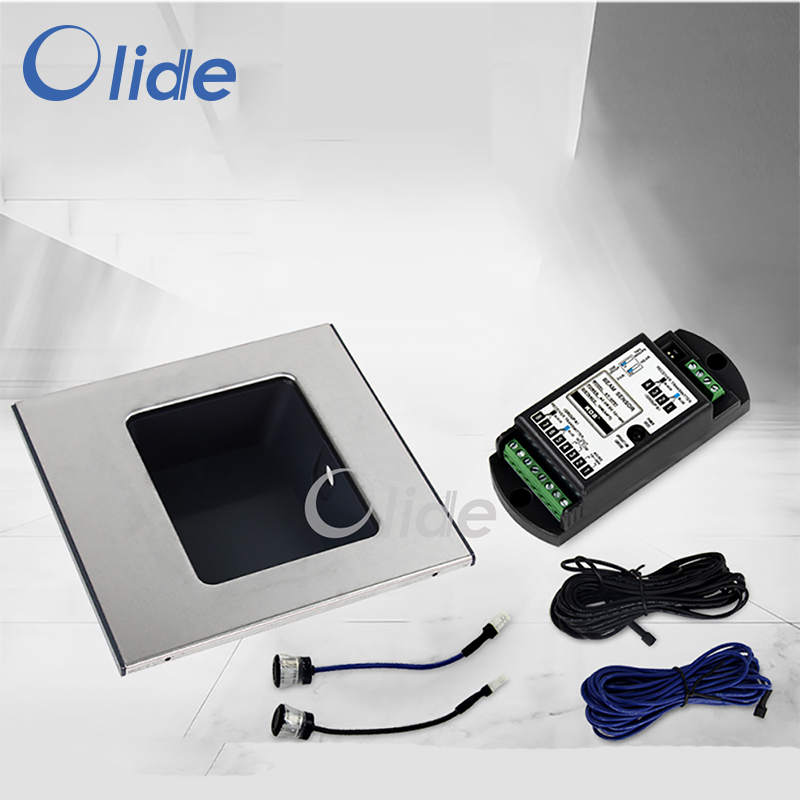Olide Automatic Door Device Foot Sensor Switch, Switch For Auto Door Access Control System beams sensor for auto door system presence detect beam sensor