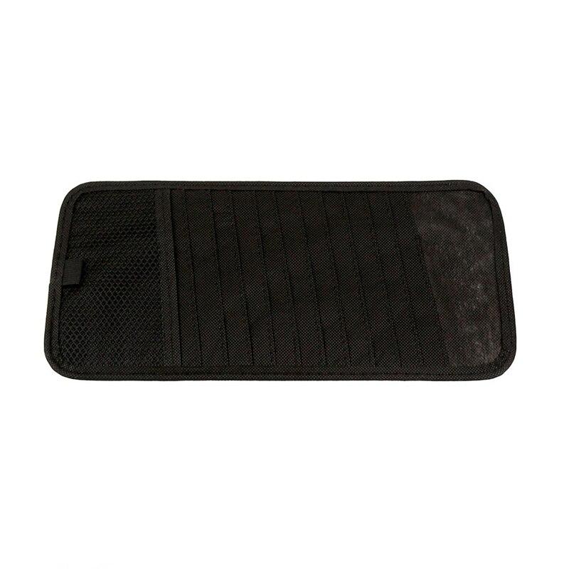 Universal Car Holder 12 Discs Car Sun Visor Holder Storage Organizer Case Clip Bag Pocket Car Accessories for DVD/CD