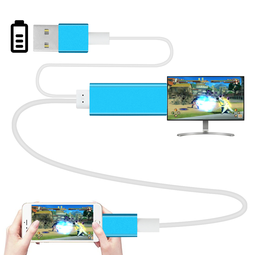 2m HDMI Cable font b for b font font b iphone b font 5 5s 6