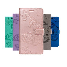 Phone Etui Coque Cover Case for Samsung Galaxy S3 I9300 Neo With High Quality Soft TPU 3D Butterfly Print PU leather Flip Wallet(China)