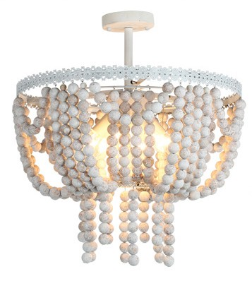 Old vintage retro rustic loft round wooden beads pendant lamp lights E14 LED lamps for living room of the hotel bar Cafe light the led clothing lights 3v 10 beads with magnet